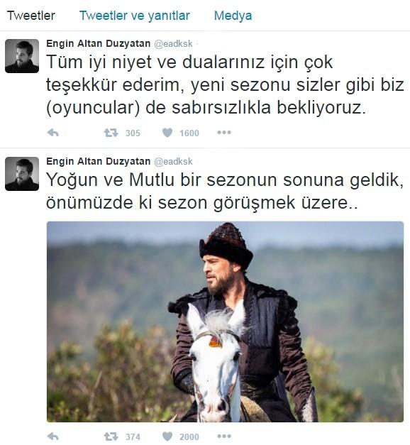 Engin Altan Düzyatan, Diziden ayrılacak mı?