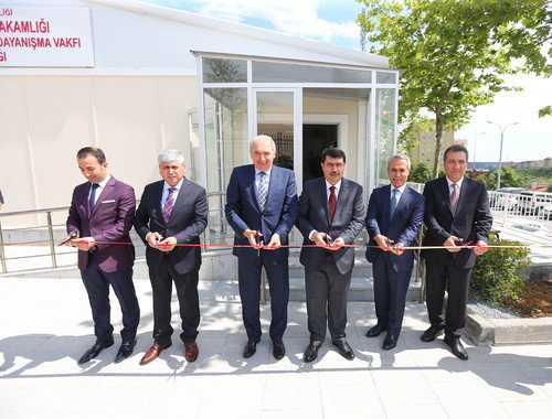 Başakşehir Kaymakamlık Ek Hizmet Binası açıldı