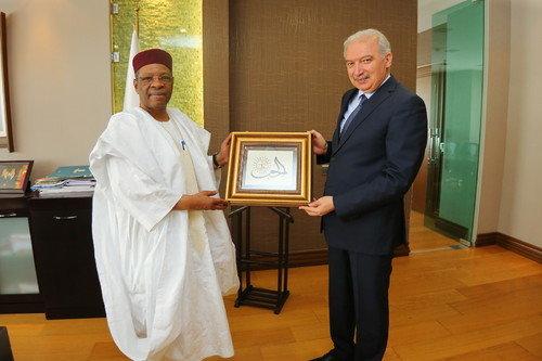 Nijer Büyükelçisi'nden Nezaket Ziyareti