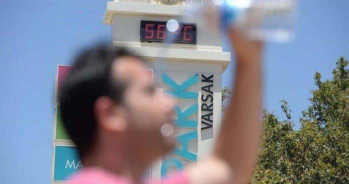 Sıcaklıklar doğal afet seviyesinde