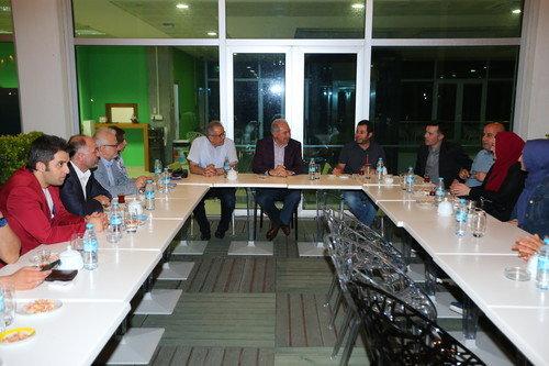 Başkan Gazeteciler ile Sahur Yaptı