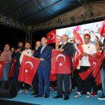 Medipol Başakşehirli Futbolcular Nöbette
