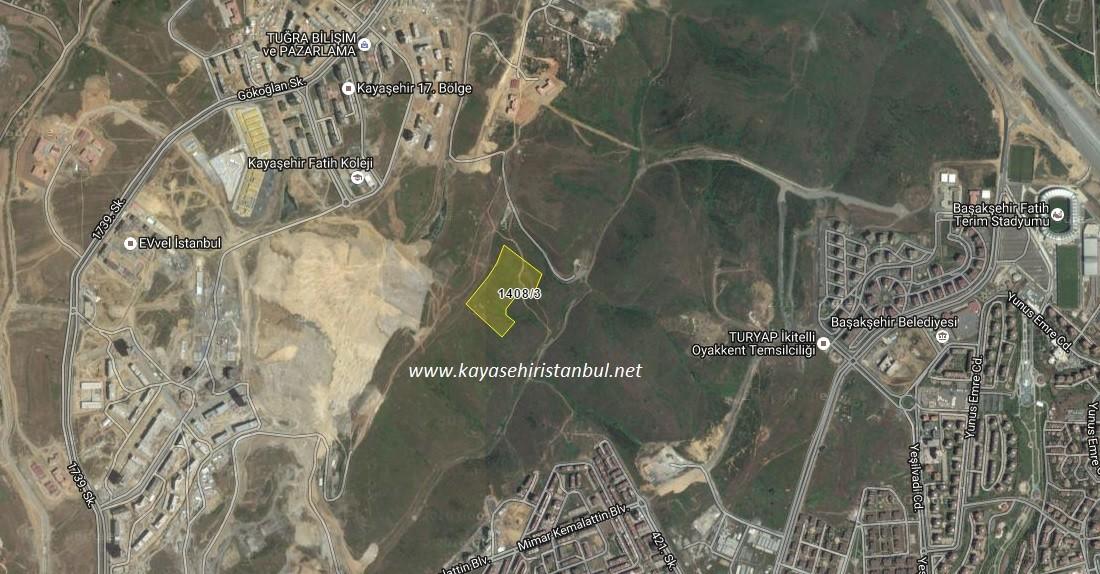 Kayaşehir'in Yeni Projesi 1408-3 nerede?