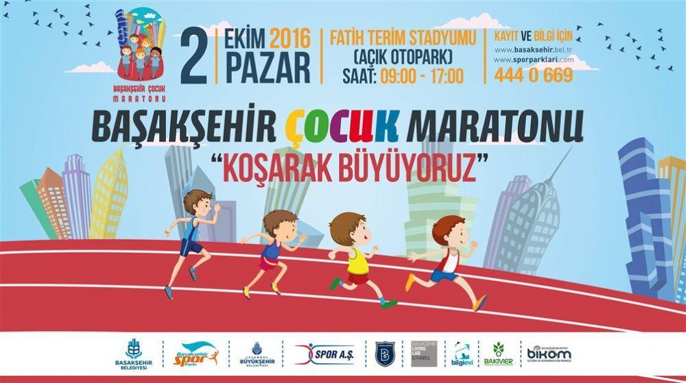 Başakşehir Belediyesi Çocuk Maratonu