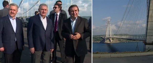 Binali Yıldırım 3. köprüyü inceledi
