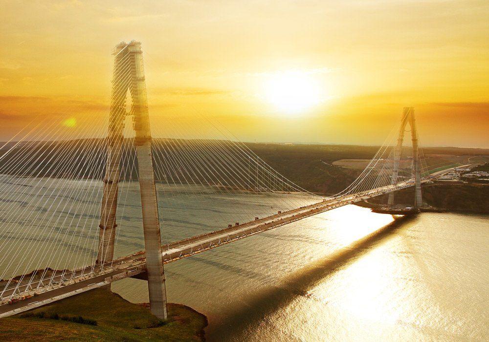 Yeni köprülerden kaç araç geçti?