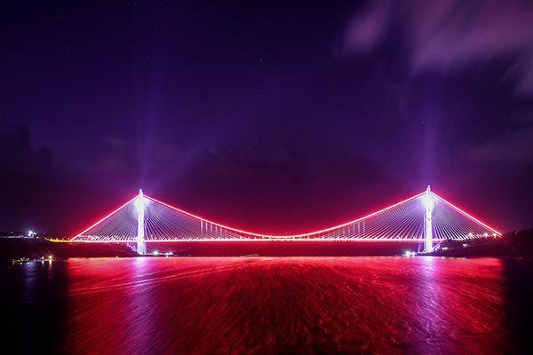 Yavuz Sultan Selim Köprüsü Görselleri