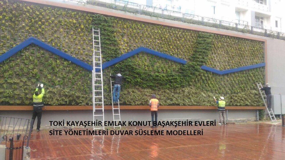 Kayaşehir Site Yönetimleri Duvar Modelleri