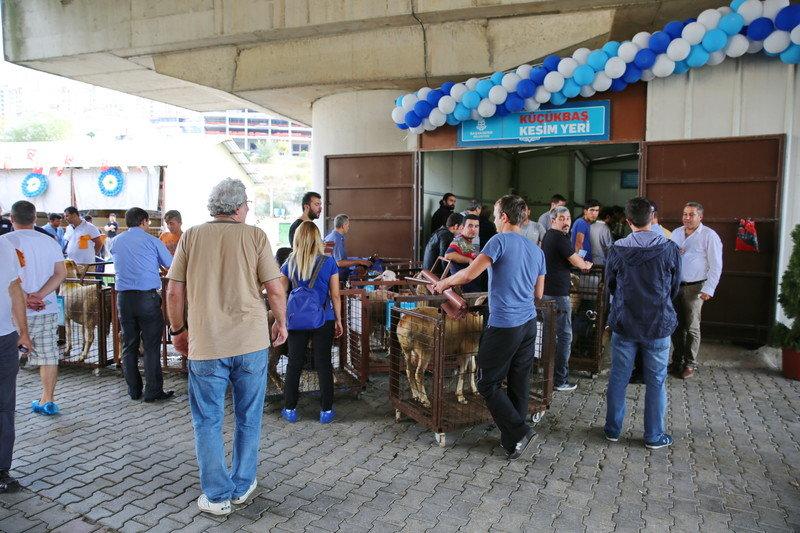Başakşehir Belediyesi Kurban Satış ve Kesim Alanı