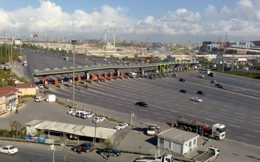 Mahmutbey Gişeleri'ne serbest geçiş sistemi geliyor
