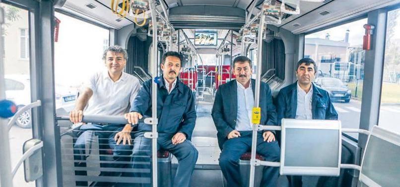 Metrobüs şoförlerinden mesaj var
