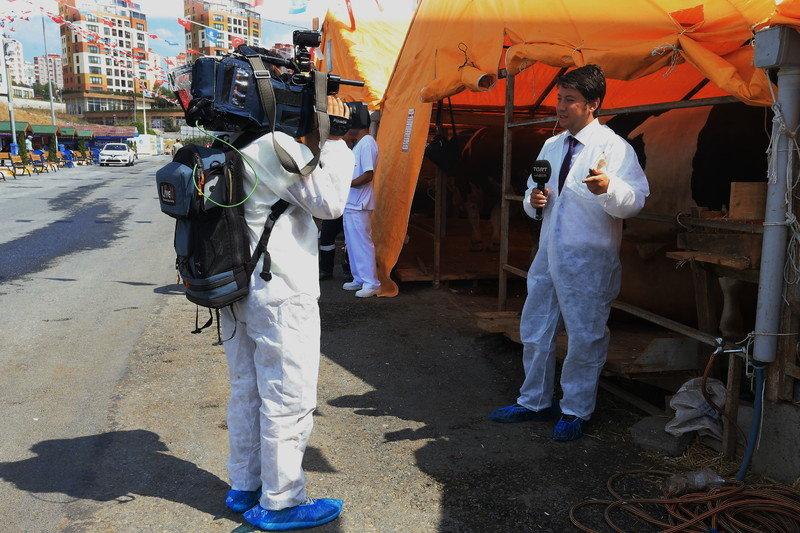 Başakşehir Kurban Kesim Yeri Medya'da