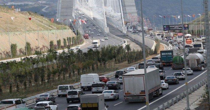 Yavuz Sultan Selim Köprüsü İstanbul trafiğini rahatlattı
