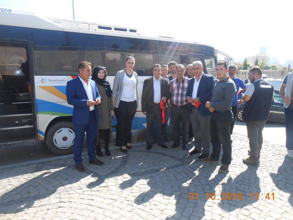 Merkez Kayaşehir AVM'ye Yolcu Taşımaya Başlandı
