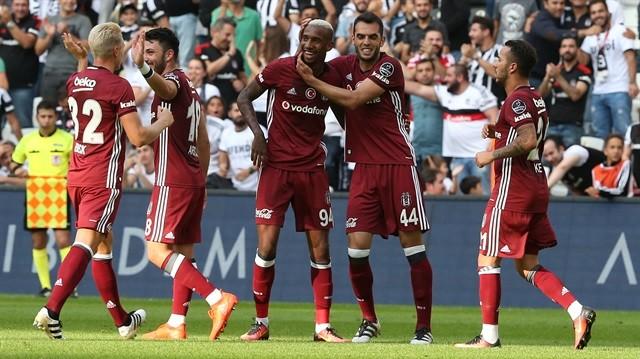 Beşiktaş-Medipol Başakşehir: 2-1
