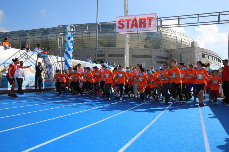 Dünya Çocuk Günü'nde Çocuk Maratonu düzenlendi