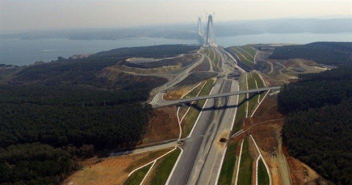 3.Köprü Başakşehir bağlantı yolu imar planı askıda