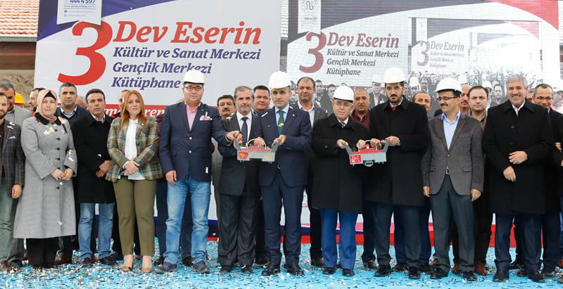 İstanbul Hadımköy'e 3 Dev Eser