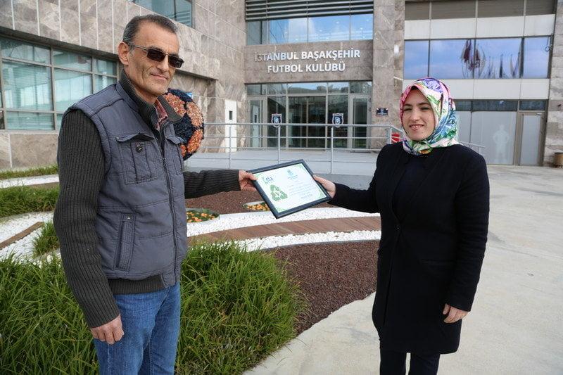 Başakşehir geri dönüşüm gönüllülerini ödüllendirdi