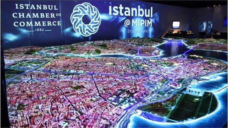 İstanbul dijital maket ile anlatılacak