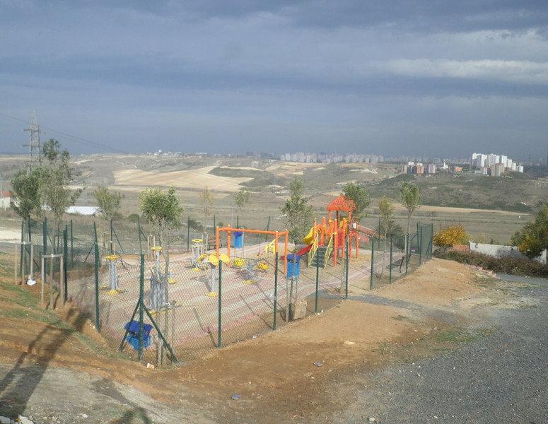 Başakşehir Şahintepe'de yeni parklar tamamlandı