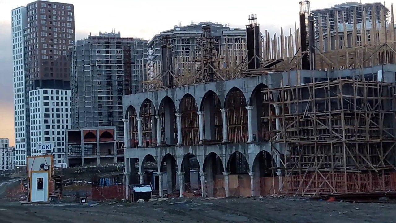 Başakşehir Şehir Parkı Cami İnşaatı