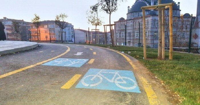 İstanbul'a bir bisiklet yolu daha