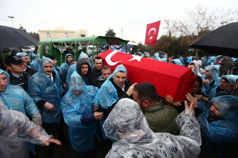 Başakşehir Şamlar'da Şehit Cenazesi