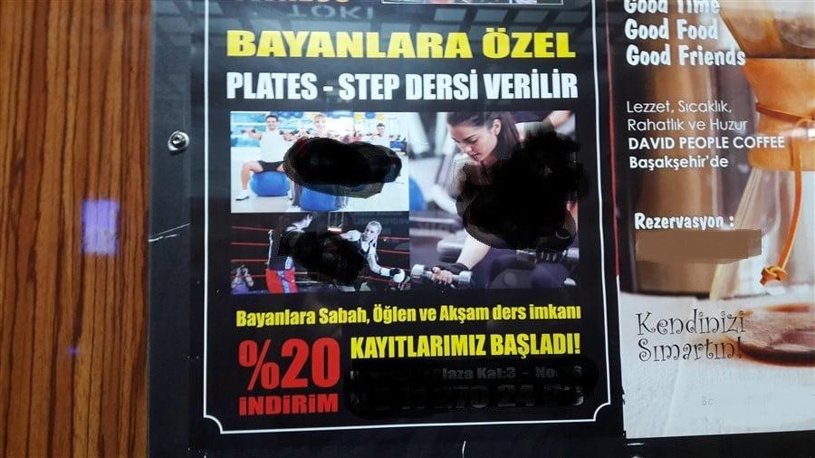 Kayaşehir'de Uygunsuz Reklamlar Tepki Çekti