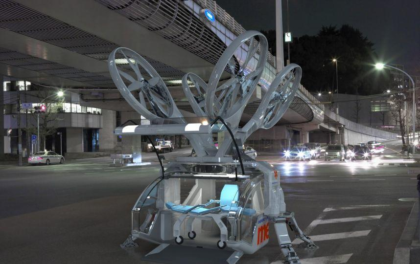 Drone İlk Ambulanslar Olarak Kullanılıyor