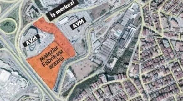 Malazlar Kibrit Fabrikası Arazisi