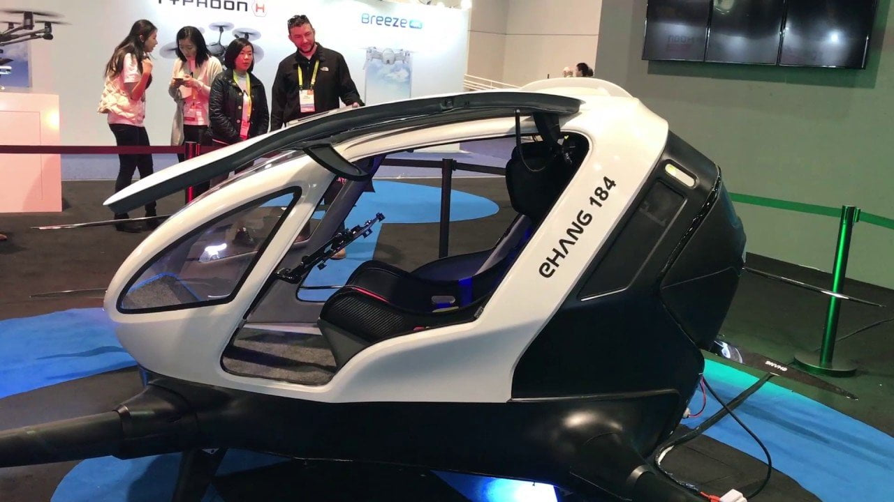 İnsan taşıyabilen drone üretildi