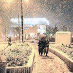 Başakşehir'de Kar Kalınlığı 50 cm