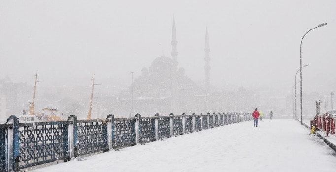 Kar İstanbul'u Teslim Aldı
