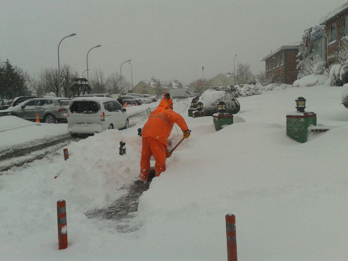 Başakşehir Karla Mücadele de Başarılı