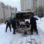 Başakşehir Karla Mücadele Resimleri