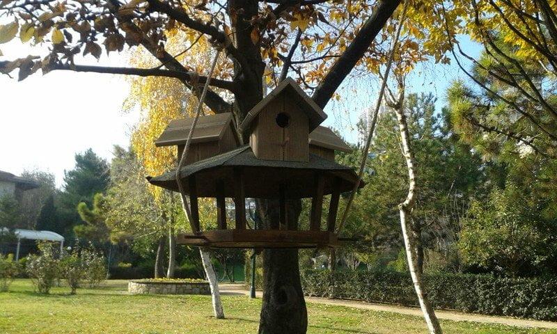 Başakşehir'de kuşlar için sıcak yuva