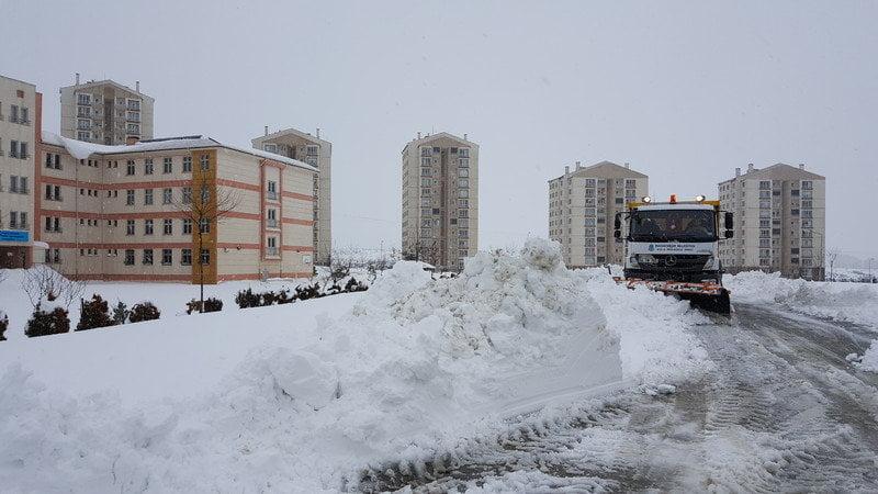 Okullarda Kar Temizliği Kayaşehir