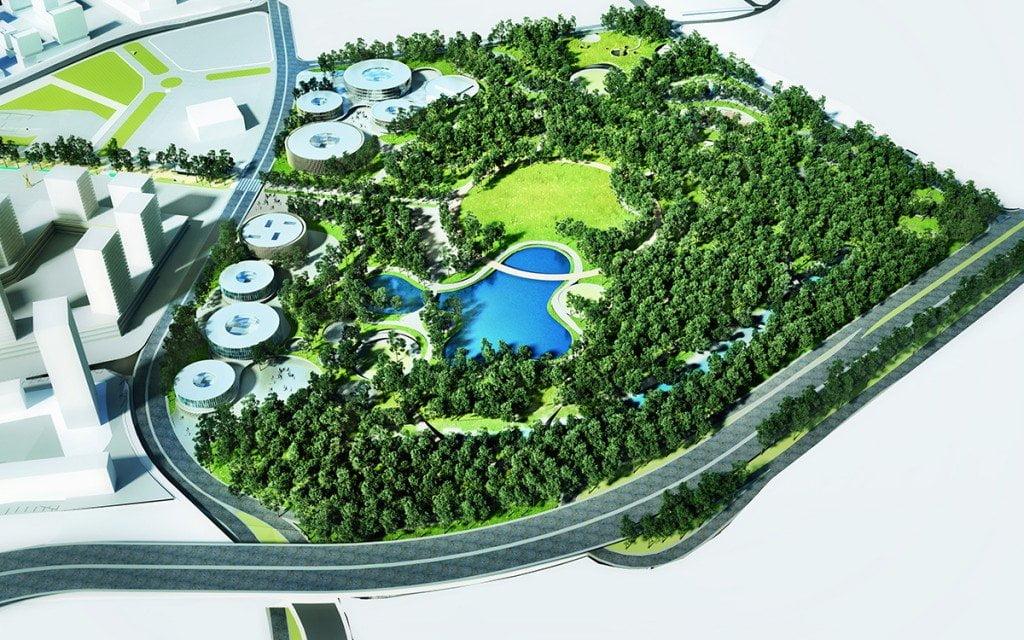 Kayaşehir Şehir Parkı Kuzey Yakası Projesi