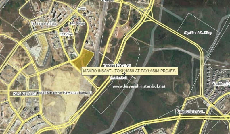 TOKİ-Makro Kayaşehir Projesi Nerede?