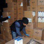 Başakşehir'de sahte şampuan yakalandı