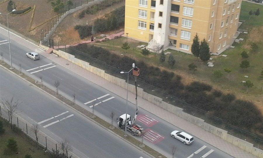 Kayaşehir Sokak Lambası