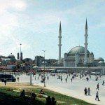 Taksim camisi ruhsat aldı