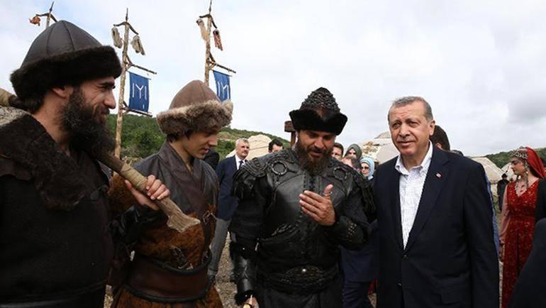 Diriliş Ertuğrul Recep Tayyip Erdoğan