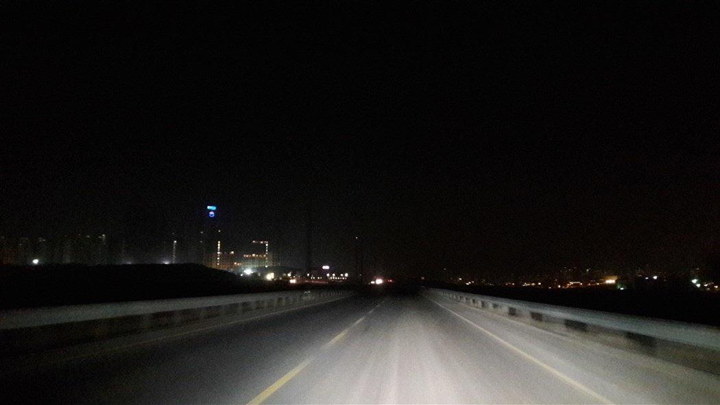 Olimpiyat Yolu Sokak Lambaları Yanmıyor