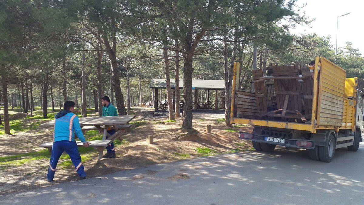 Başakşehir Pikniklere Hazırlanıyor