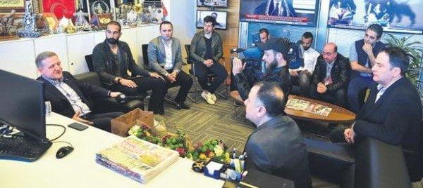 Medipol Başakşehir'den Özür Ziyareti