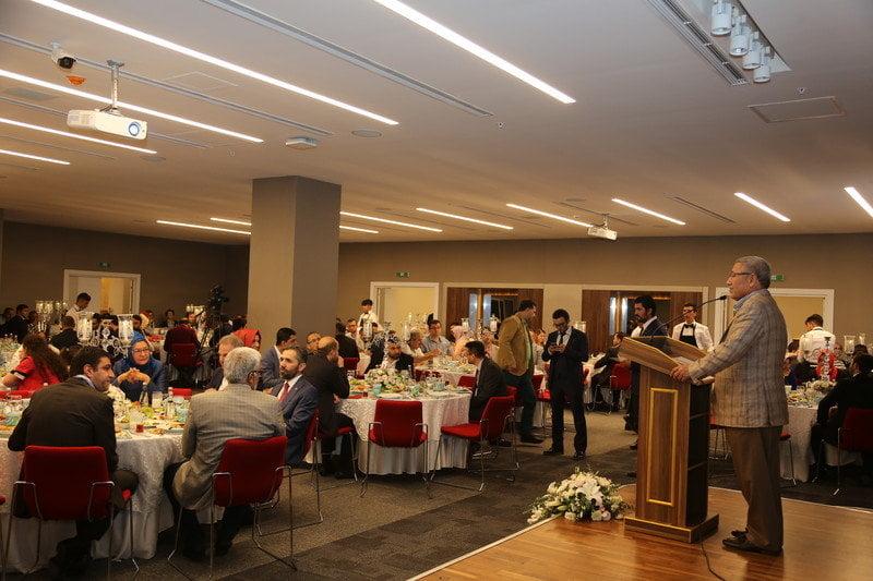 İbn Haldun Üniversitesi'nde ilk iftar