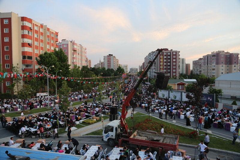 Başakşehir 1. Etap Necmettin Erbakan Caddesi