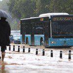 Yağmur nedeniyle iptal olan seferler